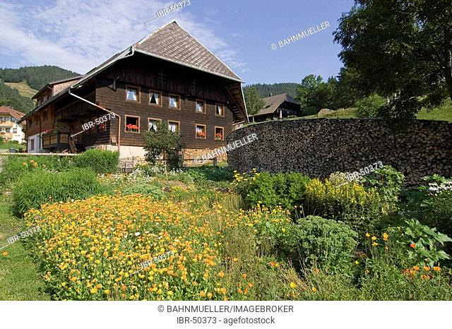 Hof near Bernau southern Black Forest Baden-Wuerttemberg Baden-Württemberg Germany farm house