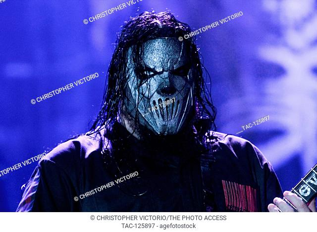Mick Thomson of Slipknot performs at 2015 Monster Energy Aftershock Festival at Gibson Ranch County Park on October 24, 2015 in Sacramento, California