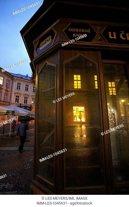 Haunted Prague, Black Madonna Building. Old Town, Prague, Czech Republic, Europe