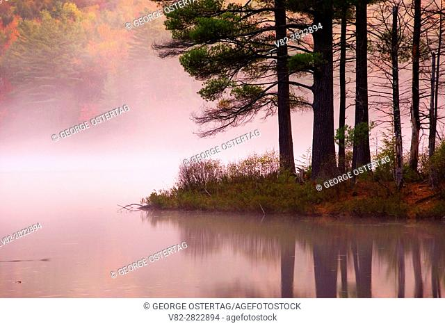 Lowell Lake dawn, Lowell Lake State Park, Vermont