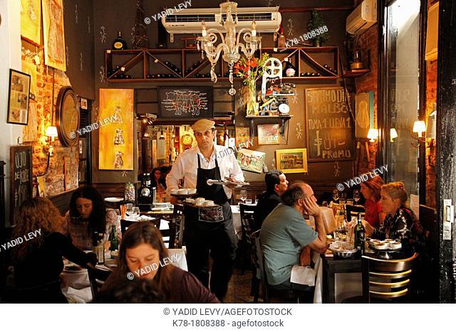 La Cabrera restaurant in Palermo Viejo, Buenos Aires, Argentina