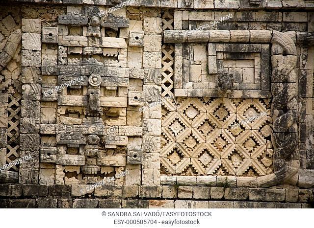 Archeological site Uxmal, Cuadrángulo de las Monjas, Yucatán, México