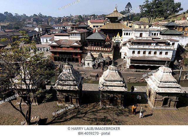 Pashupatinath Temple, Pashupatinath, Kathmandu, UNESCO World Heritage Site, Nepal