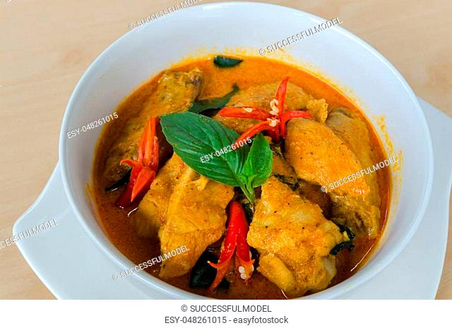 Panang chicken, delicious food, curry Chicken,Thai food