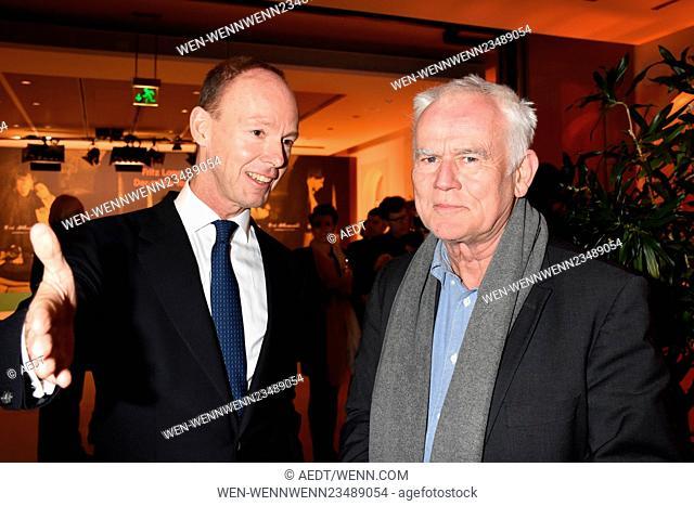 66th annual International Berlin Film Festival (Berlinale) - Der Muede Tod - Premiere at Bertelsmann-Repraesentanz Featuring: Thomas Rabe