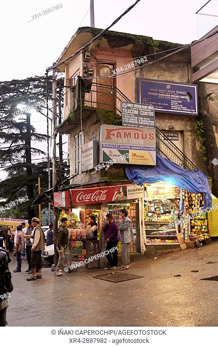 Street scene, Dharamsala, Himachal Pradesh, India