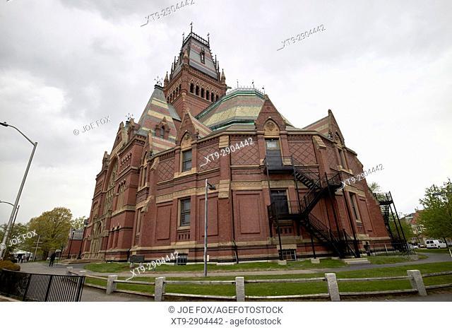 sanders theatre end of the memorial hall harvard university Boston USA