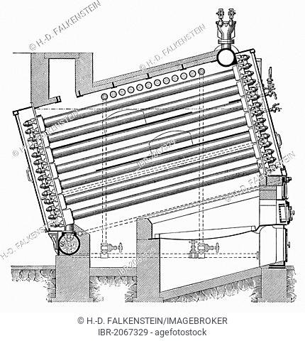 Steam Boiler To Generate Steam Stock Photos And Images