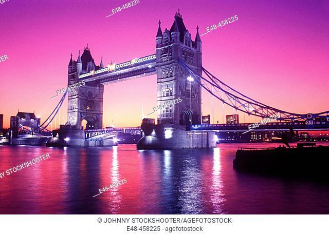 Tower Bridge. London. England. UK