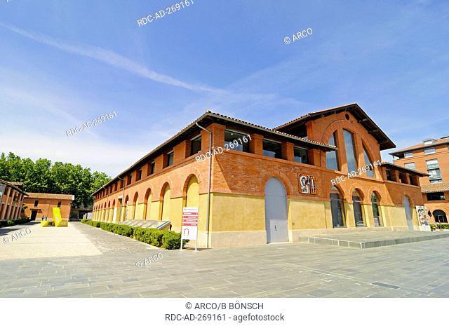 Museum Les Abattoirs, Toulouse, Department Haute-Garonne, Midi-Pyrenees, France