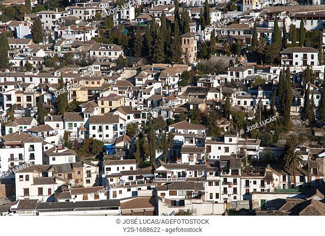 Albaicin district, Granada, Spain
