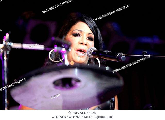 Singer and percussionist Sheila E. performs at B.B. King Blues Club & Grill Featuring: Sheila E. Where: New York City, New York