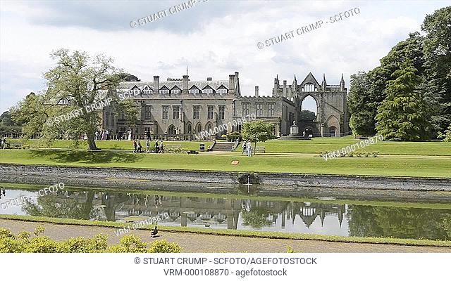 Newstead Abbey, in Nottinghamshire, England, UK