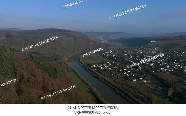 Klause Hermitage at Kastel-Staadt, Saar Valley, Rhineland-Palatinate, Germany