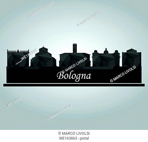 skyline of Bologna