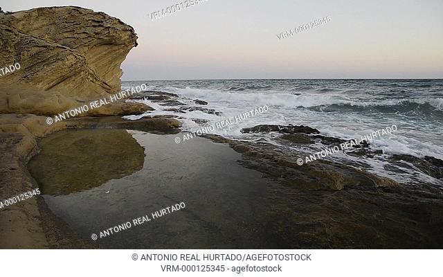 Cabo de Huertas. Alicante province. Espain