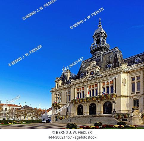 Rathaus, l'Hôtel de Ville, Marie de Vichy