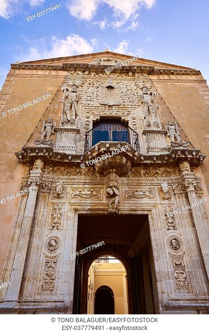 Merida Montejo house National heritage of Yucatan Mexico