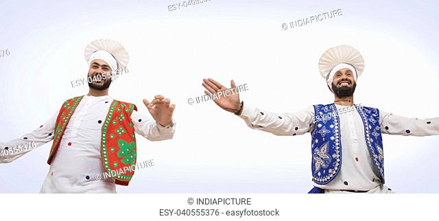 Sikh Men Dancing