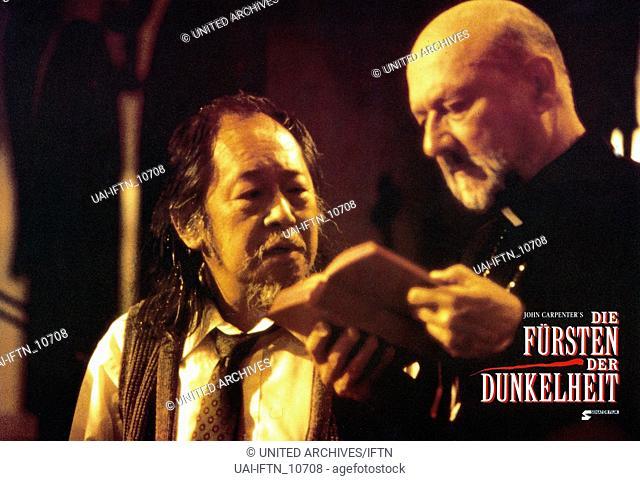 Prince Of Darkness, aka: Die Fürsten der Dunkelheit, USA 1987, Regie: John Carpenter, Darsteller: Victor Wong, Donald Pleasence