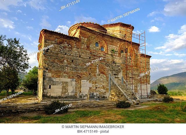 Monastery Church of St. Nicholas, Manastir Shën Kollë, Mesopotam, near Saranda, Qark Vlora, Albania
