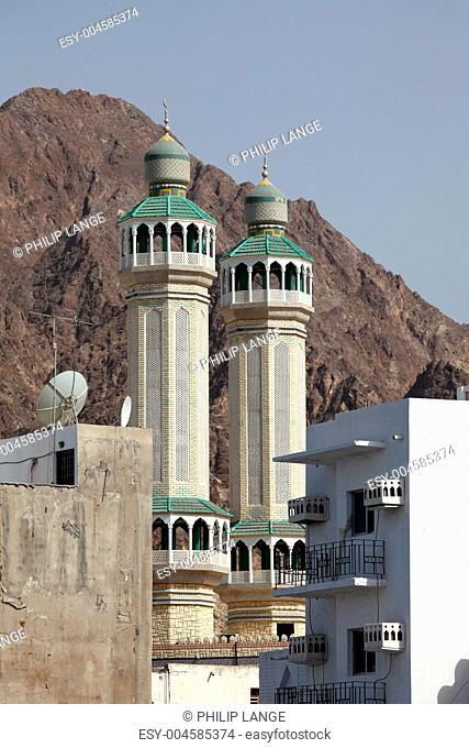 Moschee in Matrah, Oman