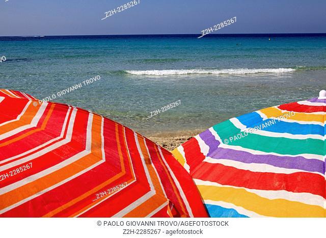Son Bou beach, Alaior, Menorca, Balearic Islands, Spain
