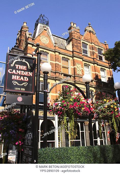 The Camden Head Pub Islington London