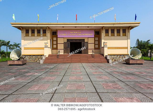Vietnam, DMZ Area, Quang Tri Province, Ben Hai, war memorial at site of former north and south Vietnam border post, museum, exterior