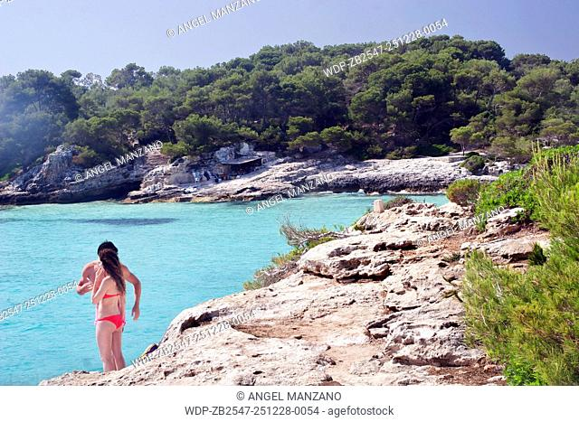 Cala Turqueta beach, Menorca