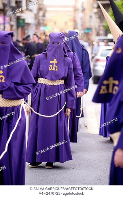 Holy Week Procession, Carcaixent, Valencia, Spain