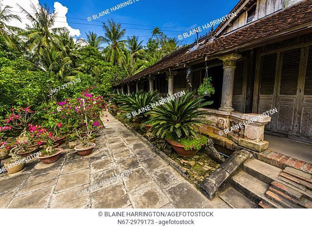 Local house, Cai Lay, Mekong Delta, Vietnam