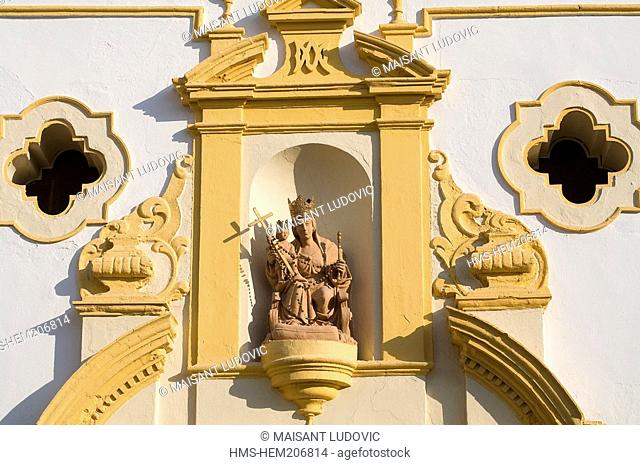 Spain, Andalusia, Sevilla, Capilla Nuestra Senora del Rosario Our Lady of the Rosary Chapel renovated in 1929