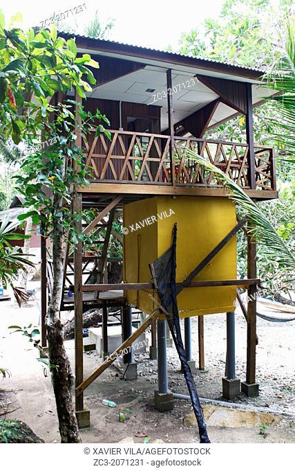 Hut in the trees, Island Pulau Perhentian Kecil, D'Lagoon, Terengganu, Malaysia