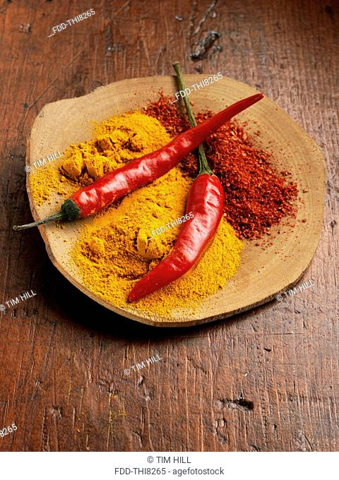 Chillies and chillies powder