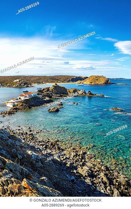 Cala Mesquida Beach. Mao Municipality. Minorca. Balearic Islands. Spain