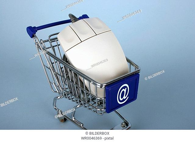 cart with a mouse