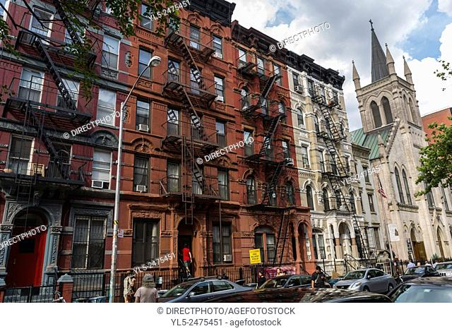 New York City, NY, USA, East Village Street Scenes, Manhattan District , Saint Marks St