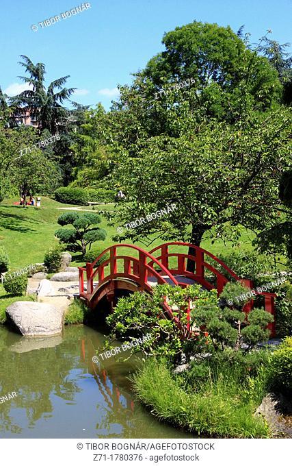 France, Midi-Pyrénées, Toulouse, Jardin Japonais