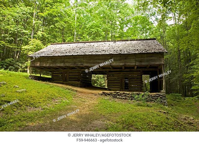 Barn, Greenbrier Area, Great Smoky Mtns Nat  Park, TN