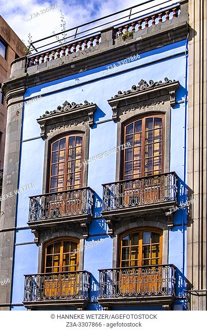 Historic buildings in Las Palmas de Gran Canaria, Canary Islands