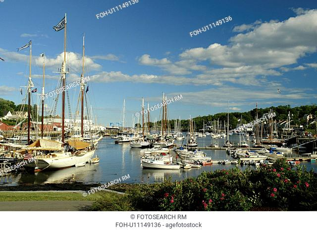 Camden, ME, Maine, Penobscot Bay, harbor