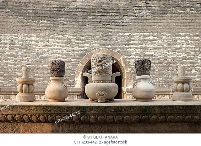 North Tomb Beiling, Zhaoling, Imperial tomb of Huang Taiji 2nd Emperor of Qing Dynasty, Shenyang, Liaoning Province, China
