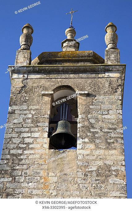 St Clemente Church Tower; Loule; Algarve; Portugal