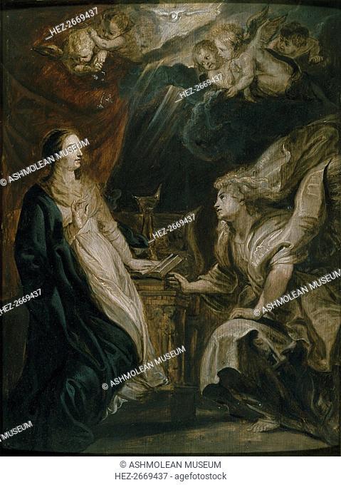 The Annunciation, c1609. Artist: Peter Paul Rubens