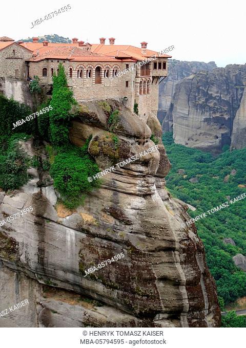 Agias Triados monastery, Greece, Meteora