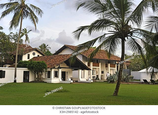 Paradise Road-The Villa Bentota hotel (originally designed by the world-renowned Sri Lankan architect Geoffrey Bawa (1919-2003)), Bentota, Galle District