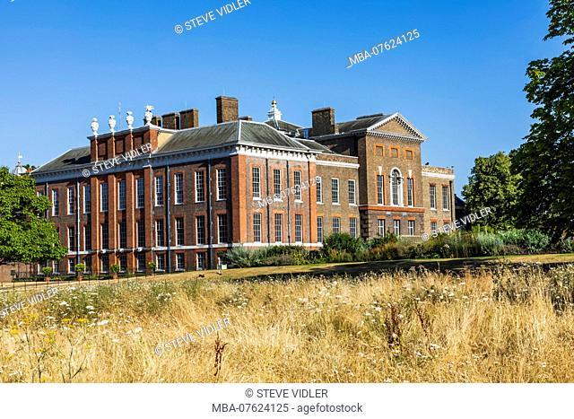 England, London, Kensington, Kensington Gardens, Kensington Palace
