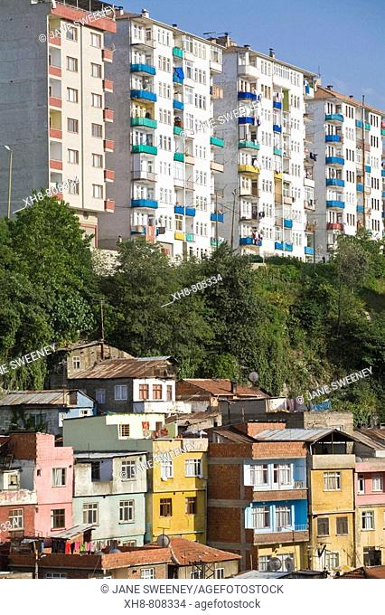 Turkey, Trabzon, Zafer, Houses and apartments