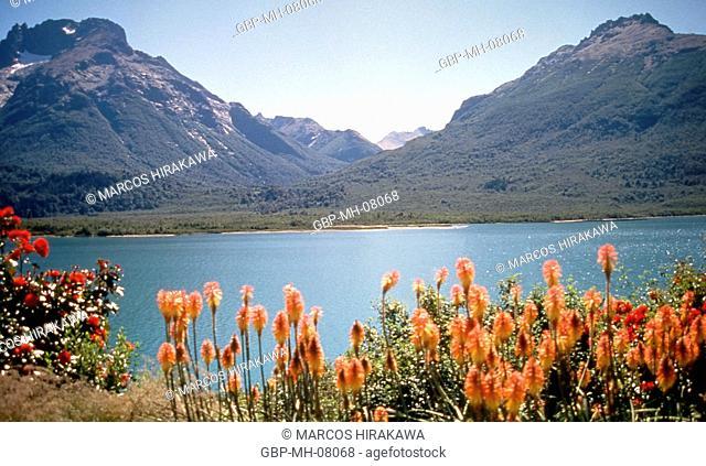Nahuel Huapi National Park, Mascardi Lake, Monte Bonete Galo Crest, Argentina 1997
